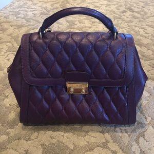 Vera Bradley genuine leather handbag. NWOT!